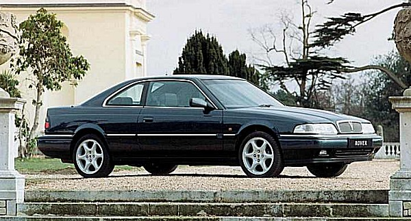 The cars : Rover 800 Coup