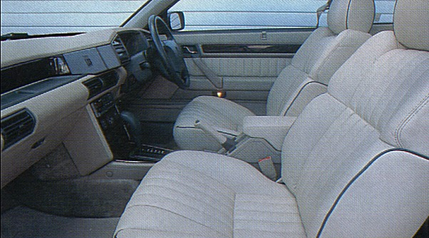 Interior truly was a credit to Wyn Thomas and the rest of the Rover design team - it looked classy, and the seats were wonderfully supportive. AUTOCAR agreed: &quot;Cabin is a triumph. Fine leather and wood blend perfectly to create an ambience that puts the Rover right up with Mercedes-Benz and Jaguar for pure class. The Rover earns top marks for rear seat space, too, providing more room than any comparable Coup.&quot; Nor only that, but the rear accommodation looked good - how many cars can you say that about?