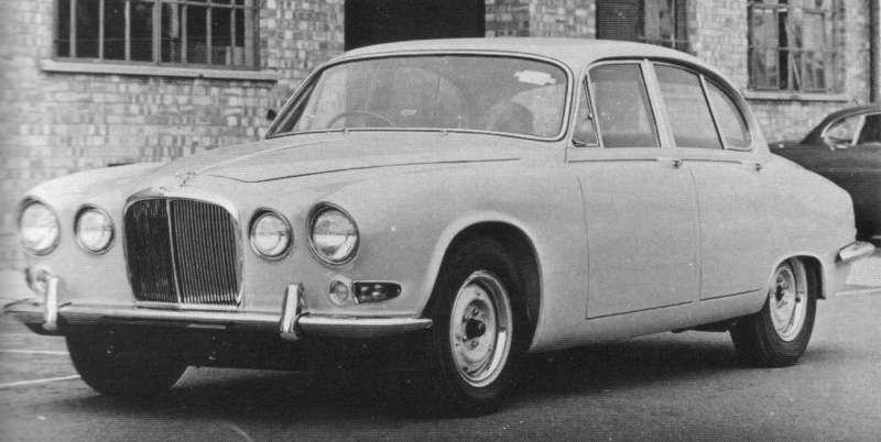 Jaguar 420 prototype