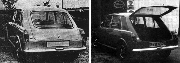 Not a Crayford, but the lesser-known Mystique, which utilised an MGB GT rear hatch to good effect.