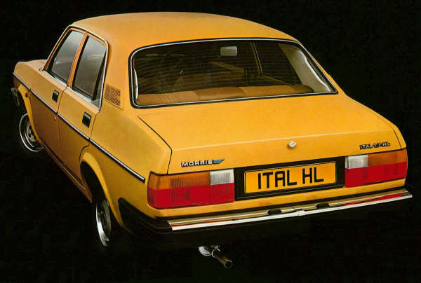 The Morris Ital : Perfectly matched with the Two Ronnies...