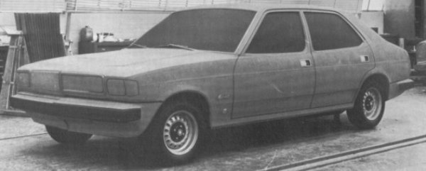 ADO77 was to have been BLMC's answer to the Ford Cortina Mark III, but unfortunately, the money ran out to develop the concept much further than this. This meant the Marina was forced to soldier on long after its sell-by date.