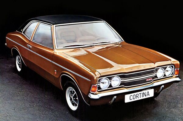 A continuation of the US-inspired look for the Cortina Mk3 led to a distinctive style 