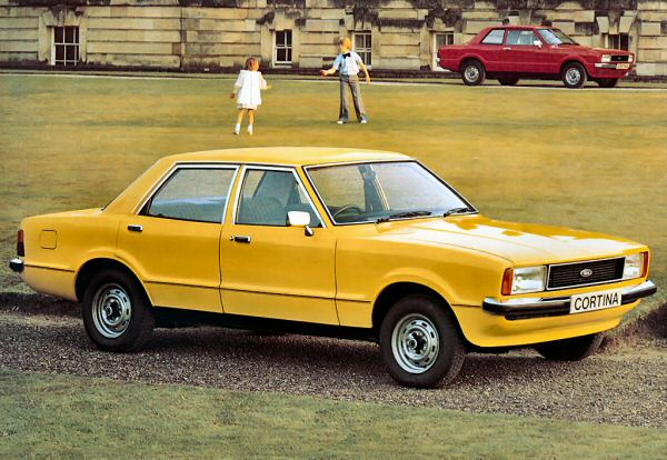 Cortina Mk4 saw the convergence of German and British design.