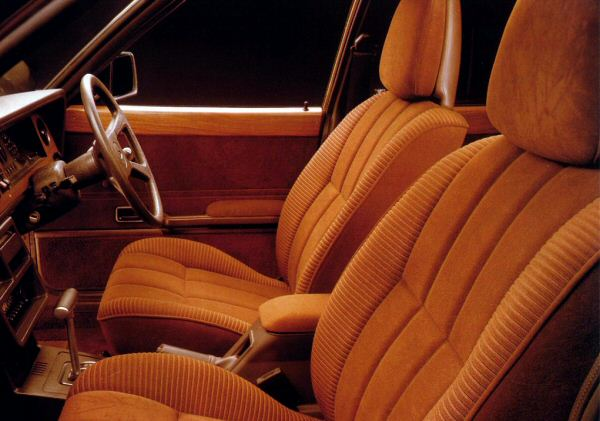 Compare the interior of this Mk4 Ghia automatic with its 1962 namesake.