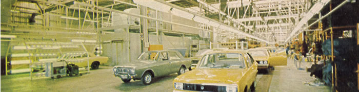 Finally, the we see the finished product! Shown also are a Valiant Regal, Hillman Hunter and Hillman Avenger Alpine.