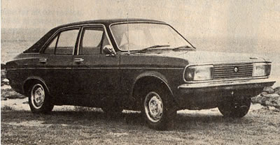 The Chrysler Avenger GLS (Todd's publicity shot, 1977)