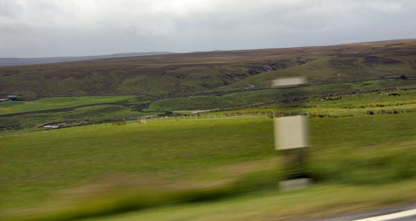 The A66 offers up vistas of bleak beauty