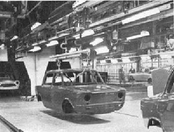 1000s rolling off the production line at Poissy