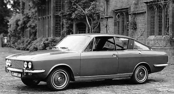 The Sunbeam Rapier was launched in 1967 and could be best summed up as &quot;gentleman's tourer&quot;. It was a stylish car indeed, but sadly, was not developed during its life. (Picture: Chrysler press photo, supplied by Graham Arnold) 