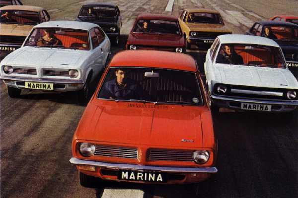 The cars : Morris Marina/Ital development history