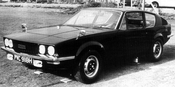 The grille/headlamp arrangement of this Michelotti Lynx bears a remarkable resemblance to the that of the P10 proposal from 1970. As with much of the design houses work of the era, the styling is very attractive  notable in this case, for its long, elegant bonnet and kamm-tail. (Picture: &quot;MG: The Untold Story&quot;, by David Knowles).