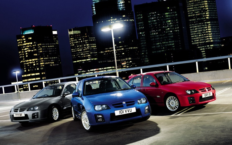 MG ZR Range