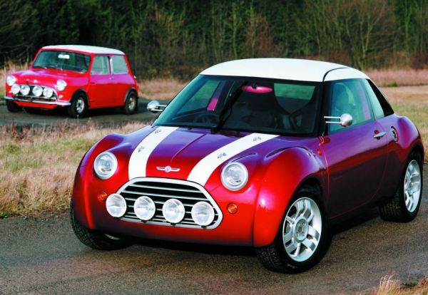 1997 ACV30 concept mirrored BMWs thinking on how the new Mini should look - and was based on one of its concepts shown at the 1995 Gaydon shoot-out. It was a coupe with a great deal of retro detailing, and its interior would provide the basis for the final model.