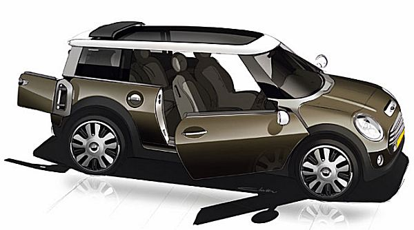 2005 MINI Concept accurately previewed the style of the 2G version - and sensibly, BMW did not mess with the existing style formula...