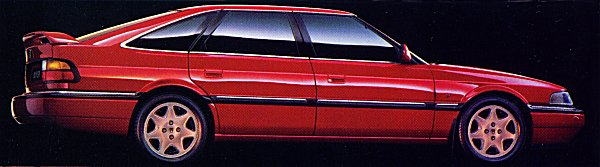 The R17 version of the Rover 800 received curvier front and rear ends, in an attempt to bring it right up to date. In fastback form, the extensive makeover has been pretty successful.
