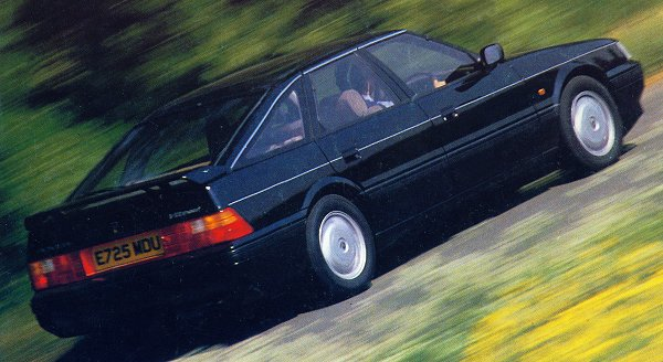1988 saw interesting new developments - the Fastback bodyshape (with echoes of the SD1) and a larger and torquier 2.7-litre V6 engine. Both were combined to create the 827 Vitesse. Some approved of the name, some didn't...