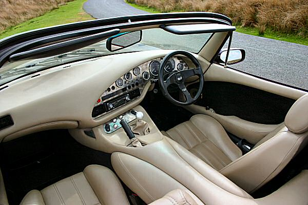 Interior looks great, and is snug... ergonomics? We'll pass on that.