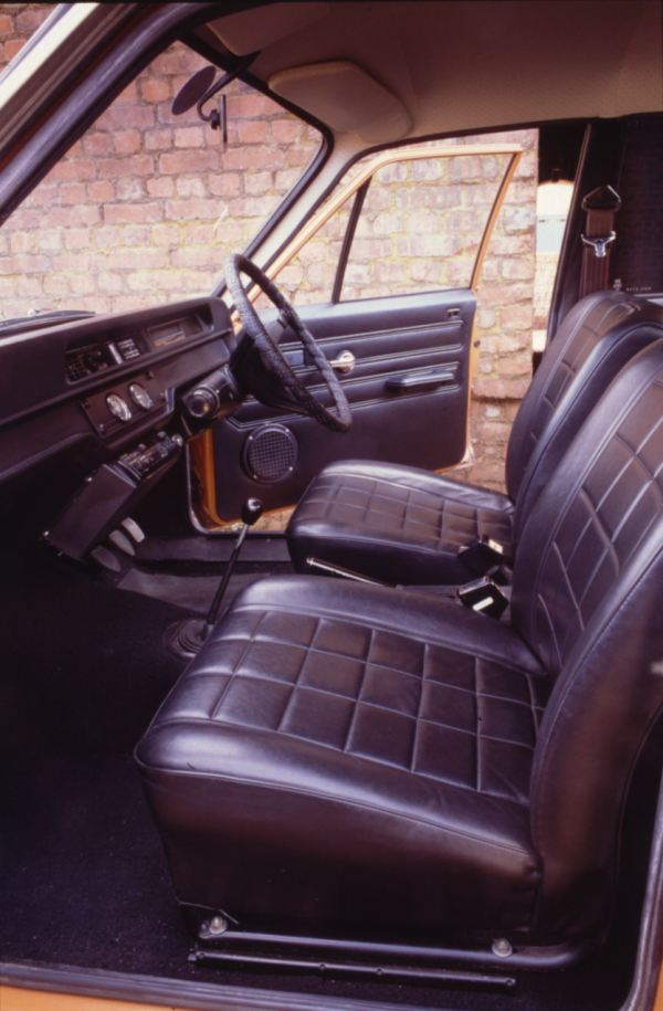 Avenger interior is a characterful effort...