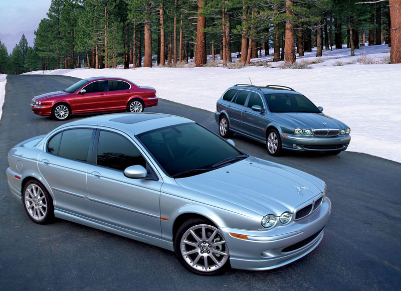 Jaguar XJR X350 generation