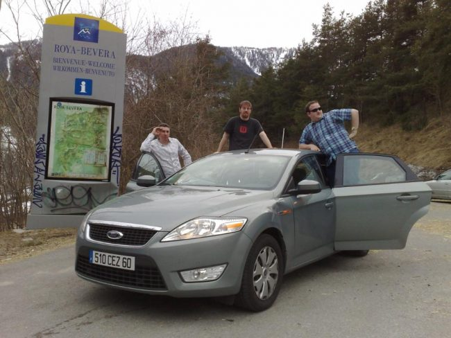 Mondeo team - would it beat our C5 to Menton?