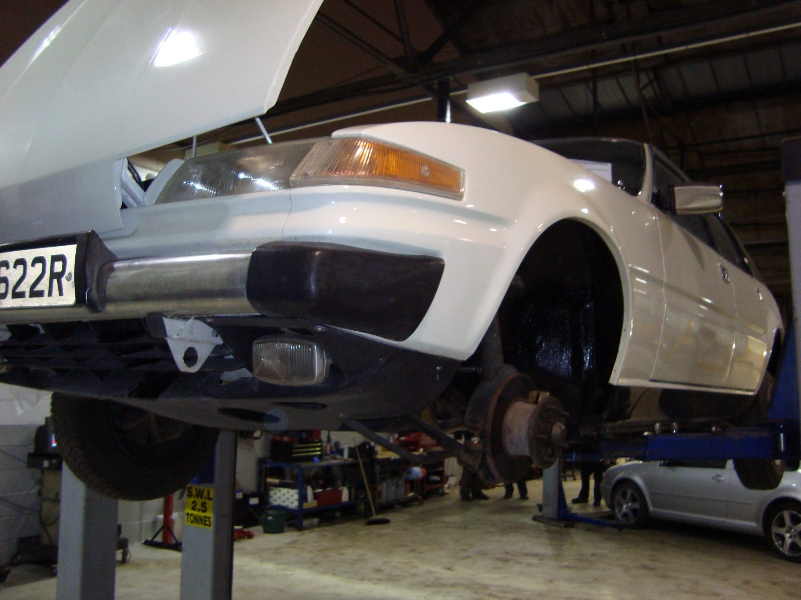 SD1 on the ramps at MOTEST