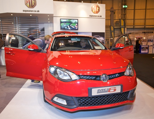 gallery mg6 and mg zero concept at mph with top gear live   aronline