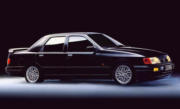 Sierra RS Cosworth: if was good enough for Spender, it was good enough for me
