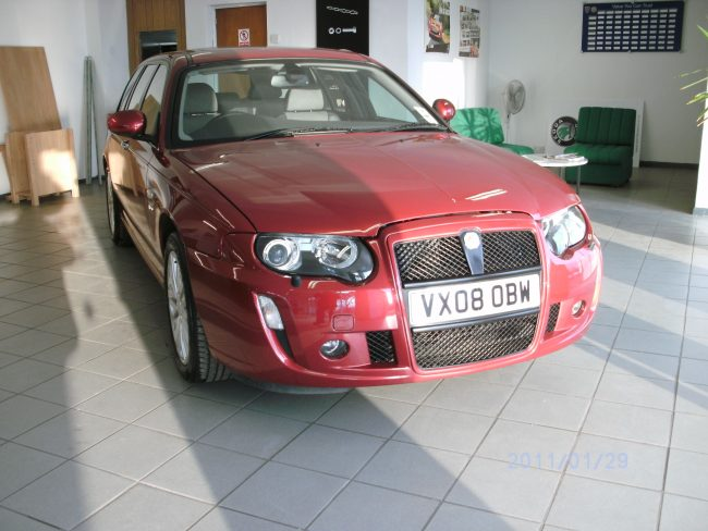 Prototype MG ZT-T for sale in the UK