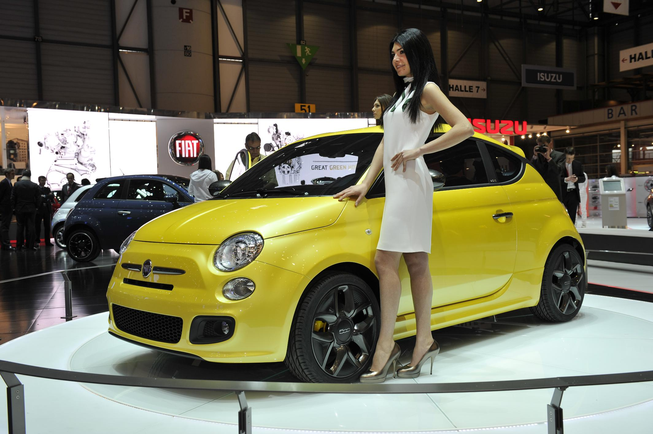 The cute Zagato Fiat 500 Coupe