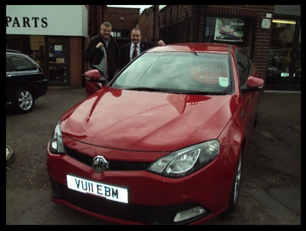 "Summit Garage are the first dealers to get their car back to their showroom, and here's what they say: ""Wonderful day out collecting our new MG6 and loads of people looking and pointing on the way back. Should have loads of interested customers this weekend!"""