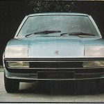 Cavalier prototype's frontal styling is already taking shape in 1972.