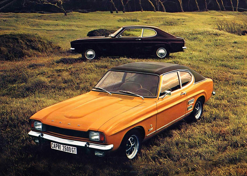 : ford capri cars - markmcfarlin.com
