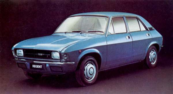 The Cars Innocenti Regent Development Story Aronline