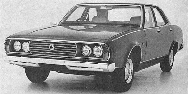 The cars : Leyland P76 development history