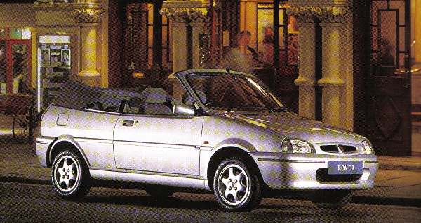 The cars : Rover Metro/100 cabrio