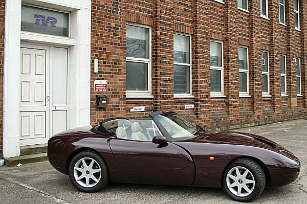 drive story tvr griffith back to blackpool aronline. Black Bedroom Furniture Sets. Home Design Ideas