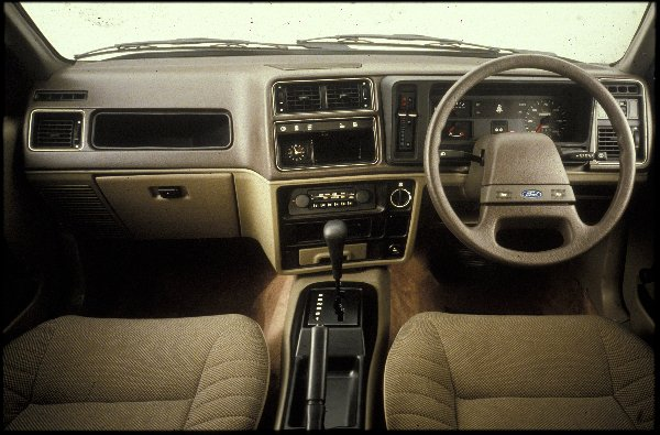 The 82 Sierra Interior was just as revolutionary as its exterior