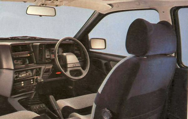 A world removed from the simple Cortina interior.