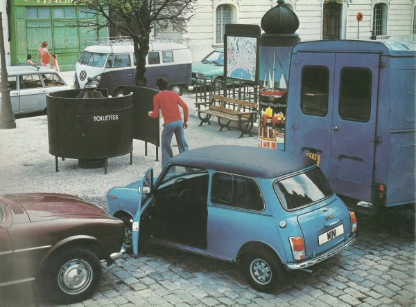 Mini's compact size was both good and bad
