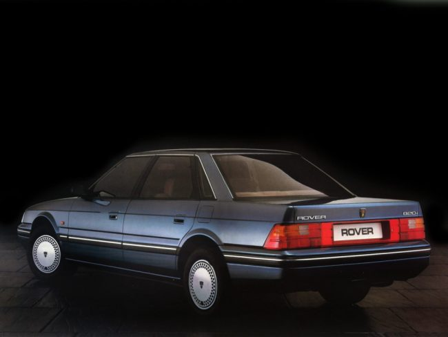 Rover 800 in launch form - crisp and up-to the minute