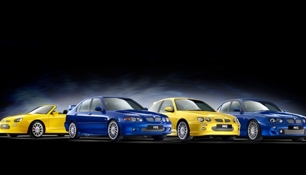 MG ZR, ZS and ZT unveiled today