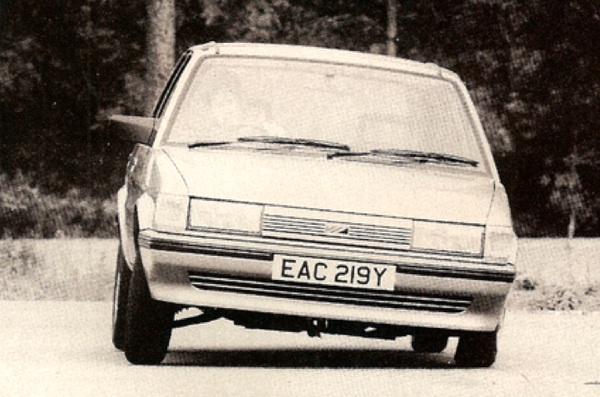 Podgy steering aside, the Maestro 1.3L was actually quite a good drive...