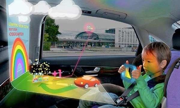 The future of in-car entertainment?
