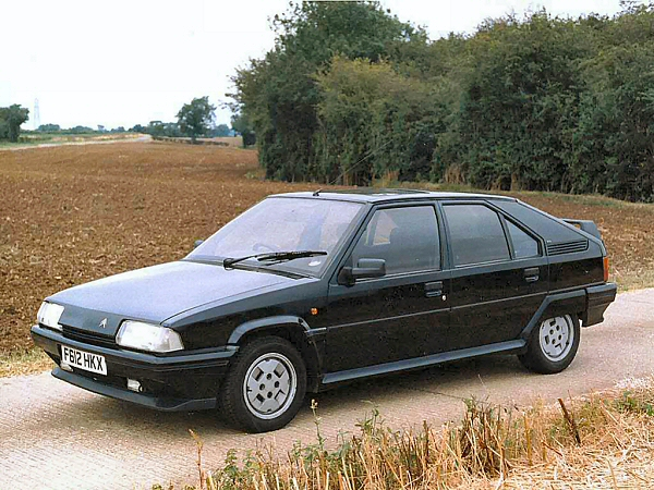 On of 13 Citroen BX 16Vs I've owned during the last 15 years. Will there be any more?