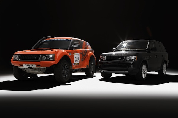 Bowler and Land Rover