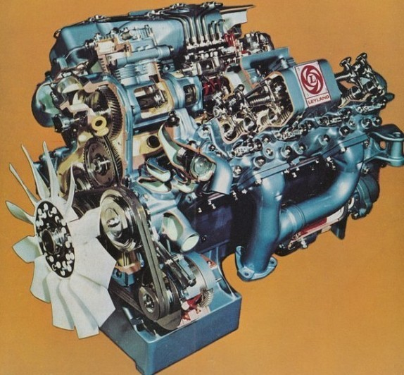 After the impressive yet flawed V8, BL opted to develop existing engines or buy in from Cummins or Rolls Royce.