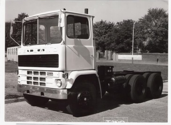 A Prototype Leyland Marathon at Southall in 1972.