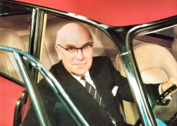 Leyland Chairman Donald (Lord) Stokes: A feared but highly respected statesman prior to the fall of BL. His knowledge of the bus & coach market knew no bounds.