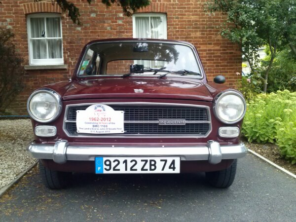 The Innocenti suffered from a problem with the charging system at this point. Otherwise all cars proved very reliable until now. Being slightly fussy, there is a new fault on the Princess to report: the wiper return is working intermittent now...